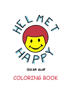 Helmet Happy Coloring Book Cover